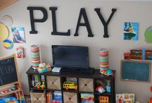 Parker's Play Room / by Ashley Blankenship