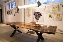 Tables / Tafels, ronde tafels, tables, round tables