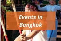 Events in Bangkok / Not only cool events, local events will be featured too!