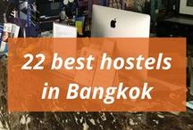 Hotels and hostels in Bangkok / Sleep tight at night. Pick right and you will never have to fight!
