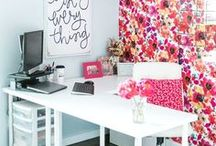 One Room Challenge / Ideas and Inspiration for my home office makeover as part of the One Room Challenge