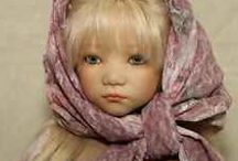 ANNETTE  HIMSTEDT  DOLLS / Beautiful doll by doll artist Annette Himstedt