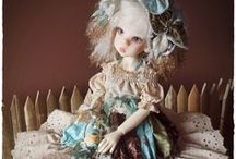 THE TRINKET BOX KIDS / Beautiful dolls by Kim Arnold for The Trinket Box  - Different doll Artists dolls