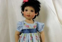 HELEN  KISH  DOLLS / Beautiful dolls by doll artist Helen Kish