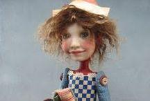 DIANNE  ADAM  DOLLS / Beautiful and cute dolls by doll artist Dianne Adam