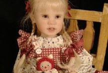 JULIE  FISCHER  DOLLS / Beautiful dolls by doll artist Julie Fischer