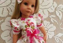 HANNAH VON GOTZ DOLLS / Beautiful dolls by Design a friend for doll artist Hannah von Gotz