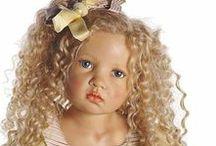 HILDEGARD  GUNZEL  DOLLS / Beautiful dolls by doll artist Hildegard Gunzel