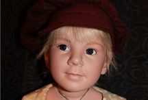 ELIZABETH  LINDNER  DOLLS / Beautiful dolls by doll artist Elisabeth Lindner