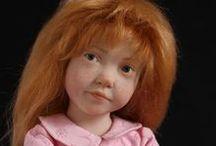 LAURENCE  RUET  DOLLS / Beautiful dolls by doll artist Laurence Ruet