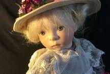SYLVIA  NATTERER  DOLLS / Beautiful dolls by doll artist Sylvia Natterer