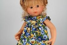 ROSEMARIE  ANNA  MULLER  DOLLS / Beautiful dolls by doll artist Rosemarie Anna Muller