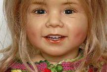 SISSEL  BJORSTAD  SKILLE  DOLLS / Beautiful dolls by doll artist Sissel Bjorstad Skille