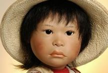 BETS  &  AMY  VAN  BOXEL  DOLLS / Amazing dolls by doll artists Bets and Amy van Boxel