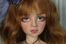 DALE  ZENTNER  DOLLS / Beautiful dolls by doll artist Dale Zentner