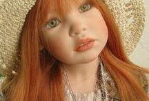 SOPHIA  ZAWIERUSZYNSKI  DOLLS / Beautiful dolls by doll artists Sophia and Henry Zawieruszynski