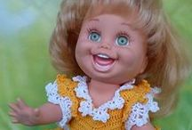 GALOOB  BABY  FACE  DOLLS / Beautiful Baby face dolls by Galoob