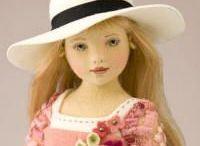 MAGGIE  LACONO  CLOTH  DOLLS / Beautiful Felt dolls by doll artist Maggie Lacono