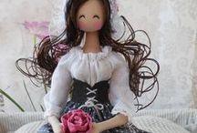 TILDA  CLOTH  DOLLS / Cute Tilda cloth dolls