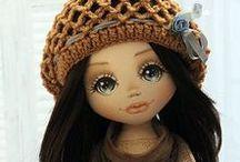 YANA  CLOTH  DOLLS / Beautiful cloth dolls by doll artist Yana