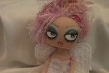 LESLEY  JANE  CLOTH  DOLLS / Beautiful and so cute cloths dolls by doll artist Lesley Jane