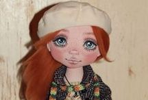 NATALI CLOTH  DOLLS / Beautiful cloth dolls by Natali