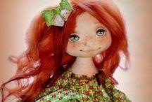 ENEHA  CUMOHOBA  CLOTH  DOLLS / Beautiful cloth dolls by doll artist Eneha Cumohoba