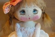 LA RONDE AUX LUCIOUS CLOTH DOLLS / Beautiful cloth dolls from La Ronde Aux lucious