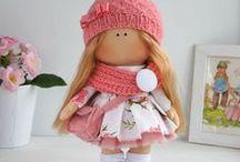 TILDA  CLOTH  DOLLS  2 / Beautiful Tilda cloth dolls