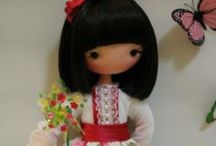 FIDELINA  DOLLS  -  SOUL  &  HEART / Beautiful cloth dolls by Fidelina  - Soul and heart