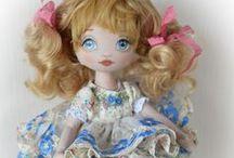 ENEHA  COKONKOBA  CLOTH  DOLLS / Beautiful cloth dolls by doll artist Eneha Cokonkoba