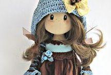 IRINA  MOLDOVA  CLOTH  DOLLS / Beautiful cloth dolls by doll artist Irina Moldova