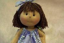 MORE  CLOTH  DOLLS / More cloth dolls