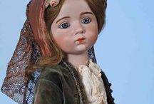 ANTIQUE  FRENCH  DOLLS / Beautiful French Antique and Vintage dolls by different doll artists