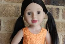AUSTRALIAN  GIRL  DOLLS / Beautiful Australian girl dolls - pretty clothes