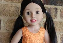 AUSTRALIAN  GIRL  DOLLS / Beautiful Australian girl dolls - pretty clothes