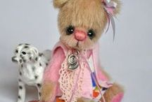 AVA TEDDY BEARS / Beautiful little teddy bears by Ava Teddy