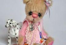 AVA TEDDY BEARS / Beautiful little teddy bears by Ava Teddy