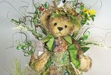 MARTHA BURCH BEARS / Beautiful teddy bears by Martha Burch