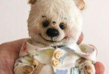 ELENA  VINOGRADOVA  BEARS / Cute teddy bears by Elena Vinogradova