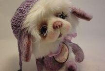 VICTORIA IVANOVA TEDDY BEARS / The cutest little teddy bears by Victoria Ivanova