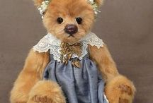 MILL CREEK CREATIONS / Cute teddy bears by Mill Creek Creations