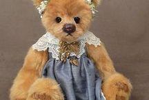 MILL CREEK CREATIONS / Cute teddy bears by Mill Creek Creations