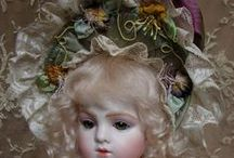 EMILY HART DOLLS / Beautiful antique dolls by doll artist Emily Hart