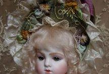 EMILY HART DOLLS / Beautiful antique dolls by doll artist Emily Hart