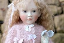 LYNNE  &  MICHAEL  ROCHE DOLLS / Beautiful dolls by doll artists Lynne and Michael Roche