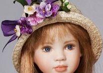 LINDA MASON DOLLS / Beautiful dolls by doll artist Linda Mason