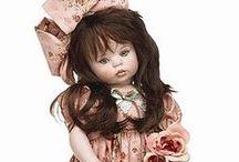LINDA RICK PEYTON DOLLS / Beautiful dolls by doll artist Linda Rick Peyton