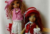DRESS UPS BY PJ / Dress ups by PJ for doll artists Kaye Wiggs - Dianna Effner and Patsy dolls