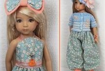 DOLL COLLAGES / Beautiful doll collages of different doll artists dolls
